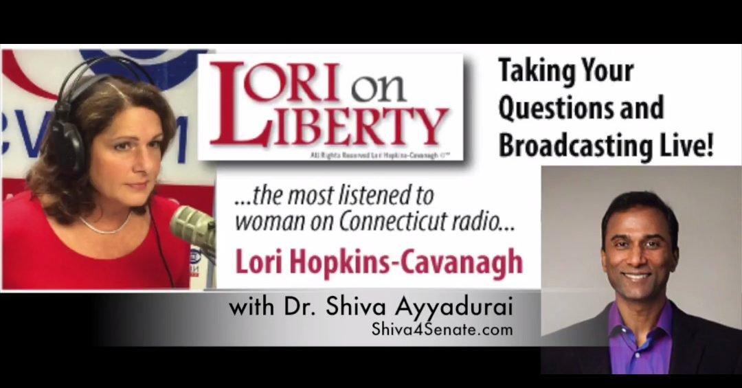 Shiva 4 Senate live on Lori on Liberty