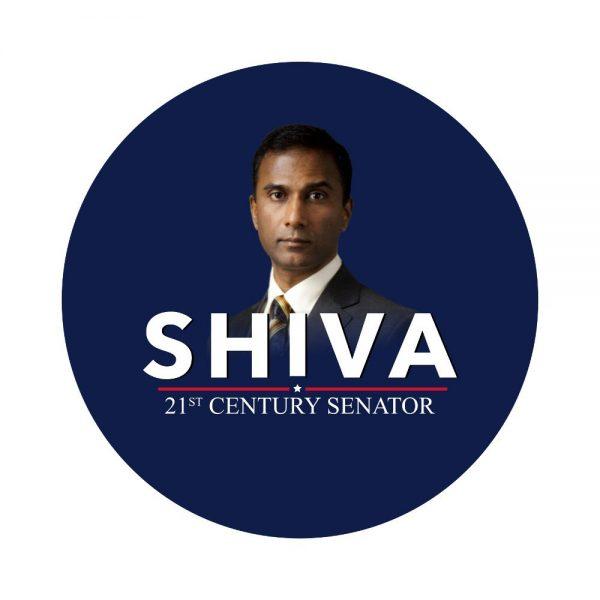 SHIVA 21st Century Senator Button
