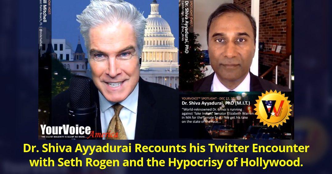 Dr. Shiva Ayyadurai Live on YourVoice America with Bill Mitchell