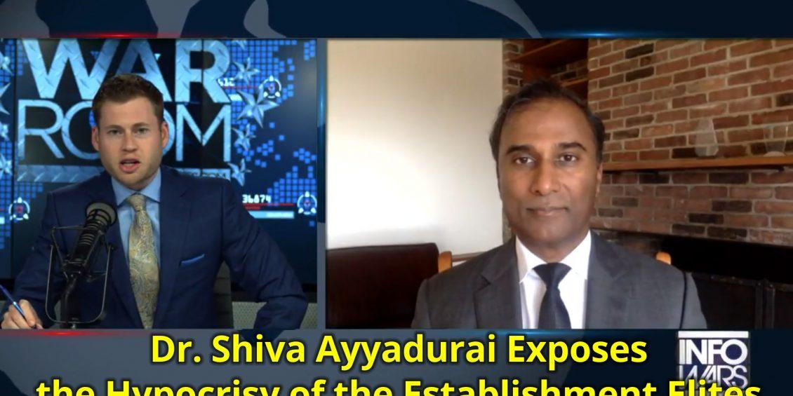 Dr. Shiva Ayyadurai exposes the hypocrisy of the Establishment elites