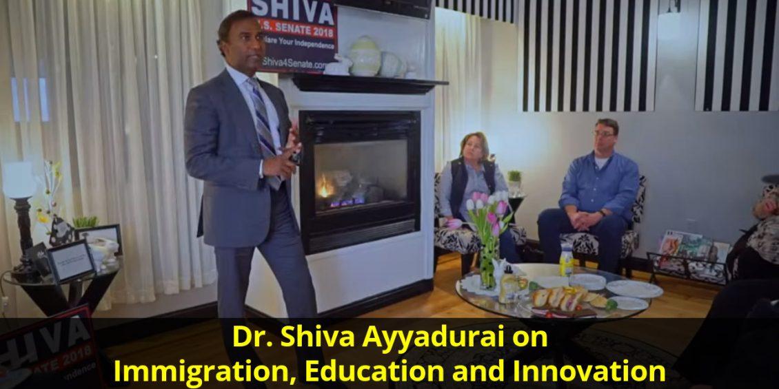 Dr. Shiva Ayyadurai on Immigration, Education and Innovation