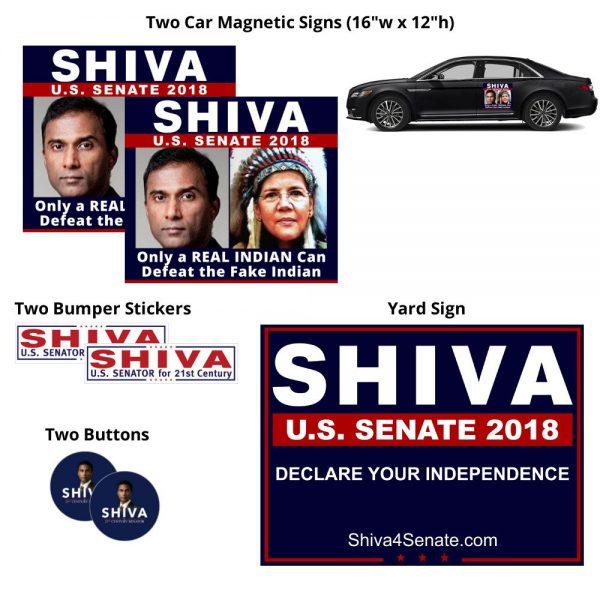 Shiva 4 Senate REAL INDIAN ROAD WARRIOR Kit