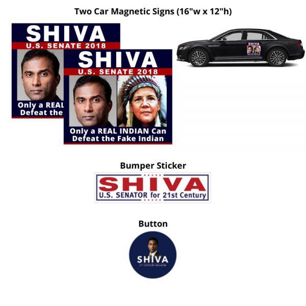 Shiva 4 Senate ROAD WARRIOR Kit