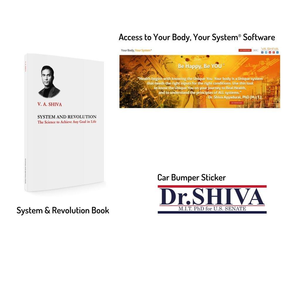 Shiva 4 Senate Truth Freedom Health Starter Kit